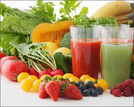 bệnh huyết trắng nên ăn gì? Rau củ quả tươi