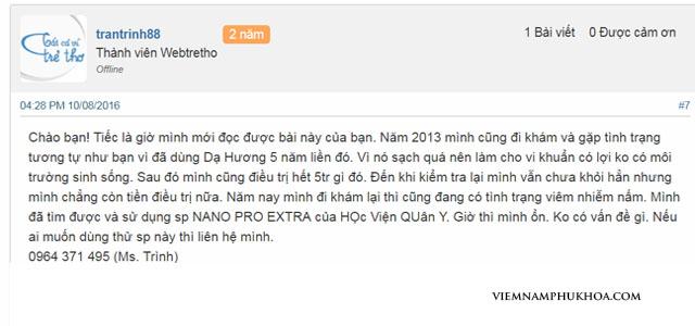 review Dạ hương