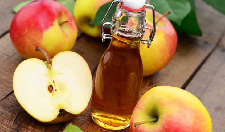 Trị mùi hôi vùng kín đơn giản với giấm táo