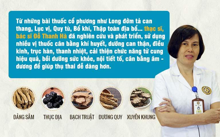 Bài thuốc chữa vô sinh hiếm muộn của bác sĩ Đỗ Thanh Hà