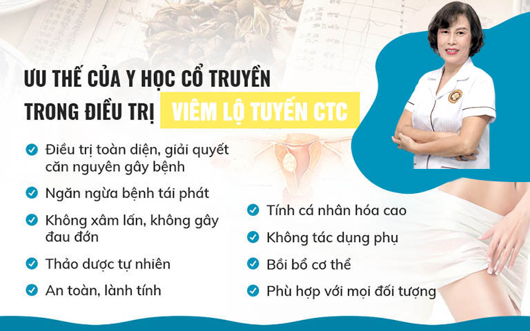 Bài thuốc của bác sĩ Đỗ Thanh Hà đặc biệt phù hợp với phụ nữ viêm lộ tuyến cổ tử cung sau sinh như chị Ngân