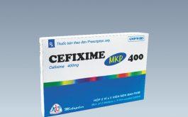 Cefixime 400 mg - một loại thuốc trị viêm niệu đạo do lậu