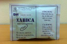 Thuốc muối Nabica