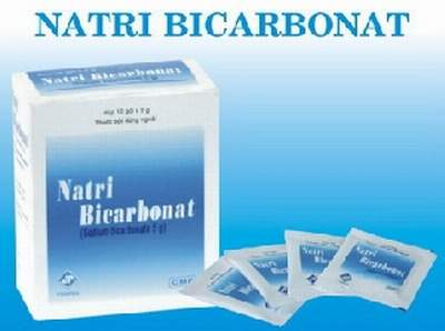 muối Natri Bicarbonat rửa phụ khoa