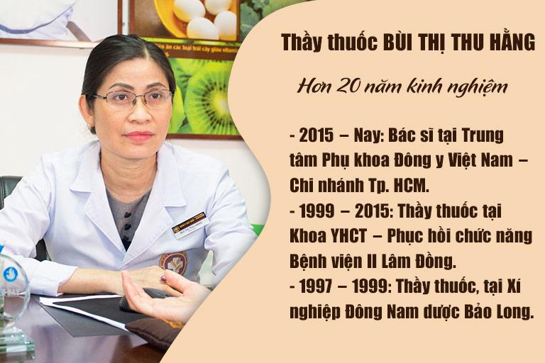 Lương y Thu Hằng có hơn 20 năm điều trị bệnh phụ khoa bằng YHCT