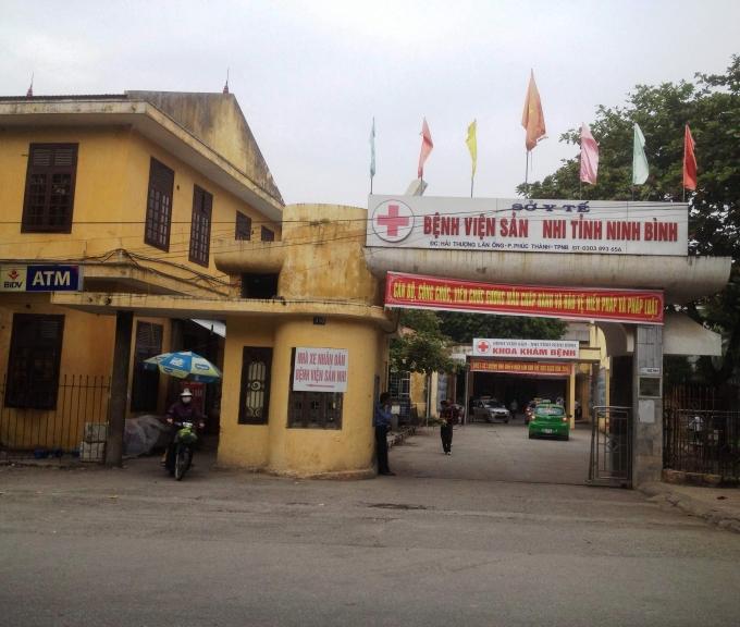 Bệnh viện Sản Nhi tỉnh Ninh Bình - phong kham thai tot o Ninh Binh