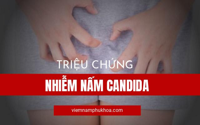 triệu chứng của nấm Candida