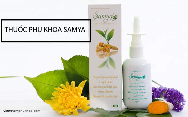 thuốc phụ khoa samya