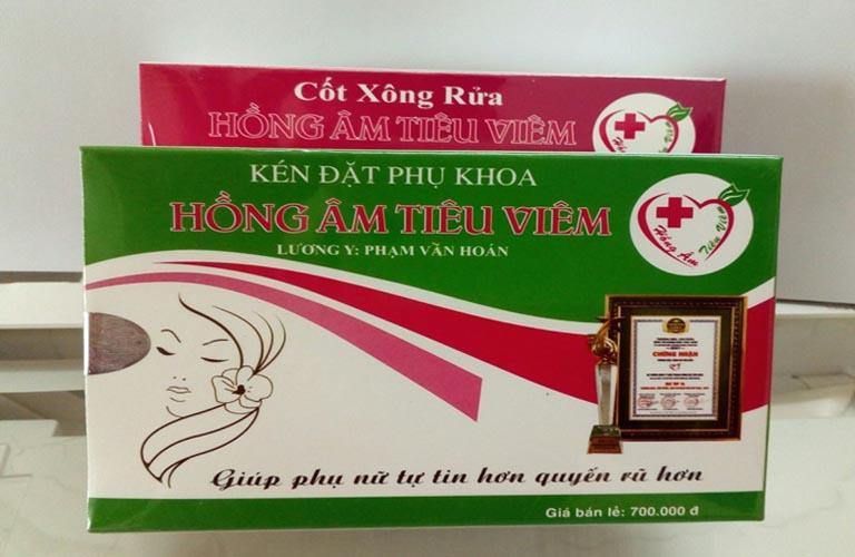 Hồng Âm Tiêu Viêm Lan Chi điều trị viêm nhiễm phụ khoa