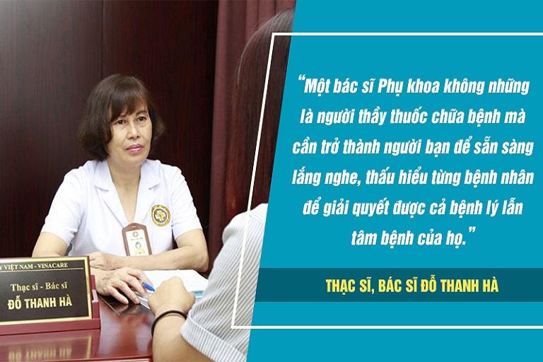 Bác sĩ Đỗ Thanh Hà luôn coi trọng cái tâm, sự thấu hiểu trong khám bệnh