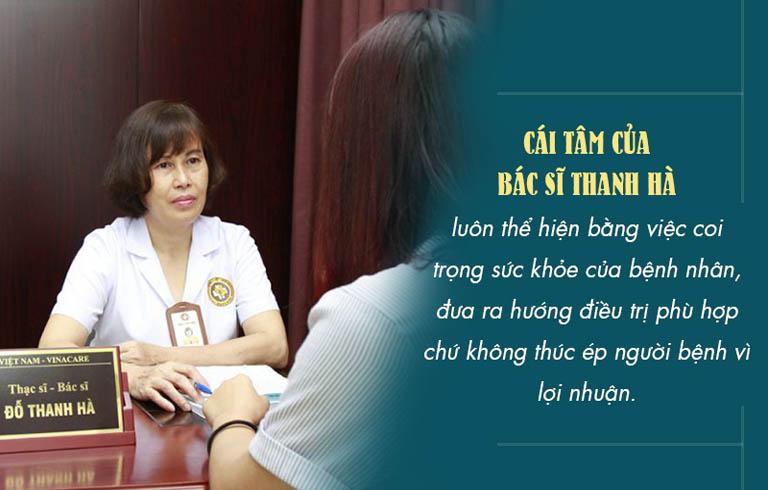 Sự tận tâm của bác sĩ luôn được người bệnh kính trọng