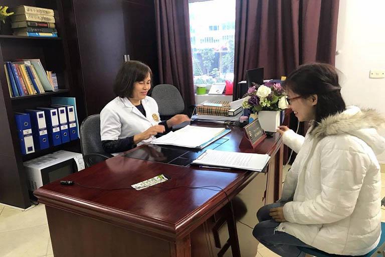 Bác sĩ Đỗ Thanh Hà rất nhiệt tình trả lời phỏng vấn