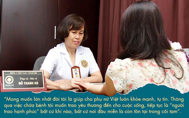 Mặc dù đã có tuổi nhưng bác sĩ Hà vẫn giữ trọn cái tâm của người làm y khi khám chữa cho từng ca bệnh
