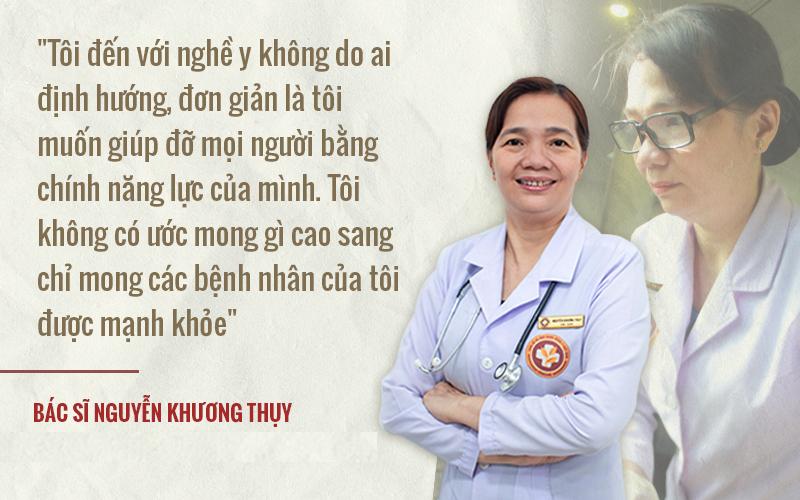 Bác sĩ Nguyễn Khương Thụy được đánh giá là một trong những chuyên gia hàng đầu về Y học cổ truyền
