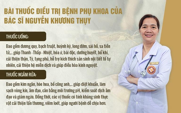 """Tác động kép """"trong uống - ngoài rửa"""", bài thuốc của bác sĩ Thụy mang lại hiệu quả tối ưu cho người bệnh viêm lộ tuyến cổ tử cung"""