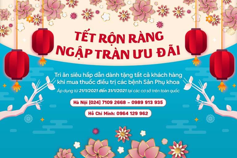 Chương trình khuyến mại siêu hấp dẫn tại Phòng khám Đông y Việt Nam