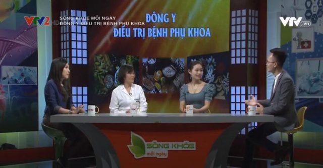 Bác sĩ Đỗ Thanh Hà trong chương trình Sống khỏe mỗi ngày trên VTV2