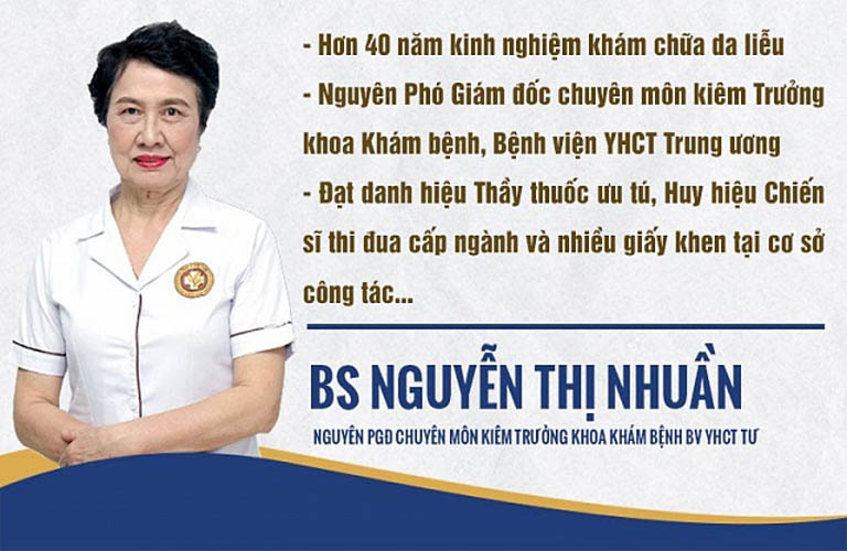Thầy thuốc ưu tú, bác sĩ Nguyễn Thị Nhuần