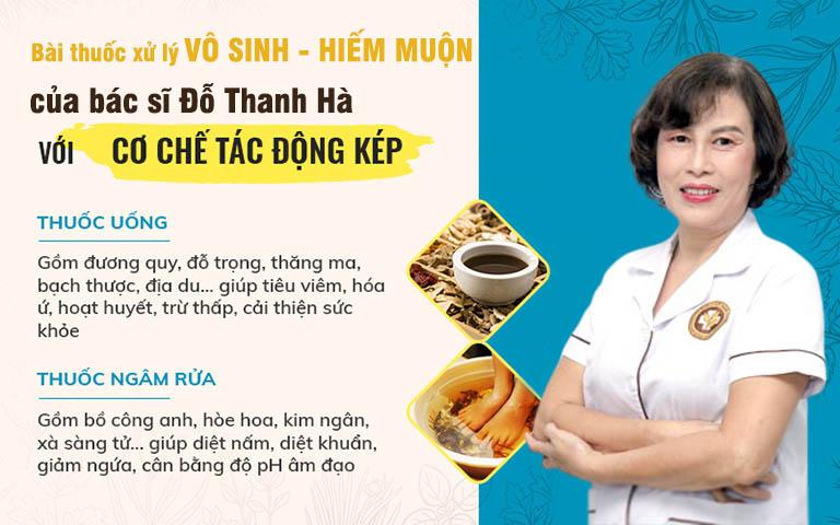 2 chế phẩm trong bài thuốc điều trị vô sinh hiếm muộn của bác sĩ Đỗ Thanh Hà